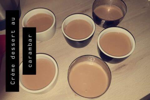 Crème dessert au carambar Thermomix par Mounia92