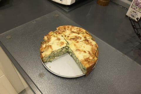 Gâteau invisible aux courgettes au Thermomix