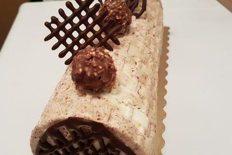 Bûche Ferrero Rocher au Thermomix