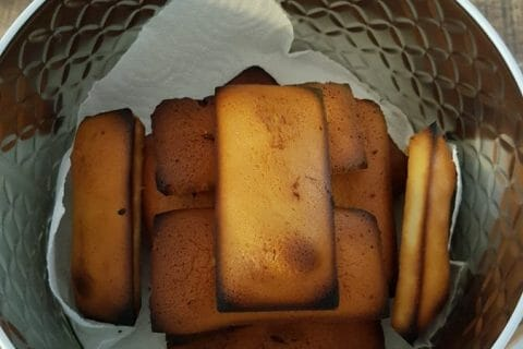 Financiers au Nutella au Thermomix