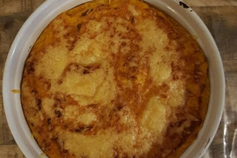 Parmentier de dinde au curry au Thermomix