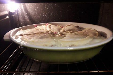 Gratin de macaroni reblochon et chorizo Thermomix par Aurelie.C