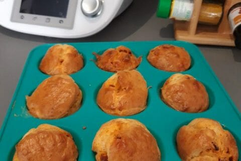Muffins au chorizo Thermomix par elodie100284
