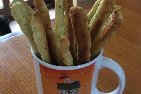 Gressins parmesan basilic Thermomix par sandrineD