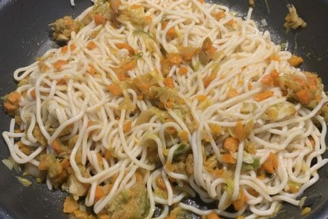Nouilles chinoises Thermomix par sandrineD