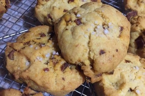 Cookies au chorizo Thermomix par sandrineD