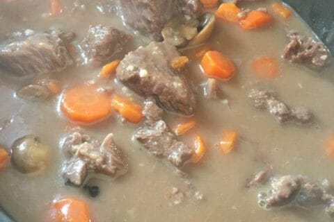 Boeuf bourguignon Thermomix par sandrineD