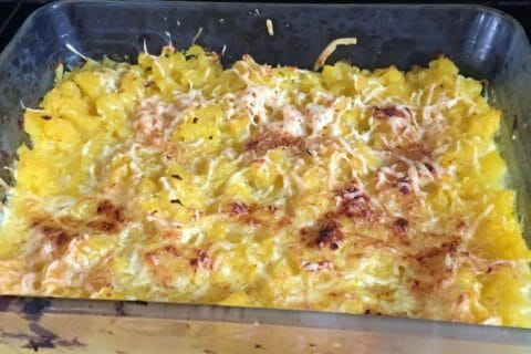Gratin de courges butternut Thermomix par sandrineD