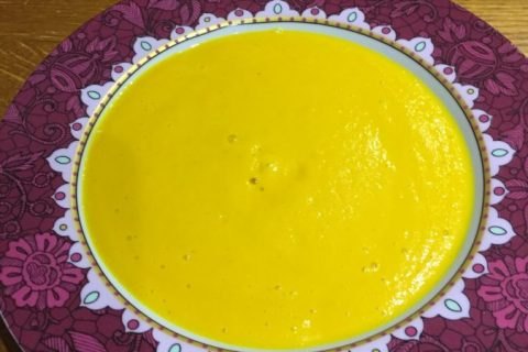 Velouté de carottes au curry Thermomix par sandrineD