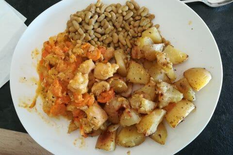 Bouchées de poulet aux carottes au Thermomix