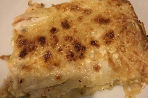 Lasagnes au saumon et poireaux Thermomix par Nass19