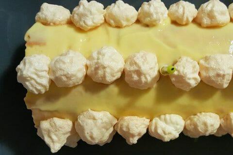 Bûche au citron meringuée Thermomix par GwenCuisine