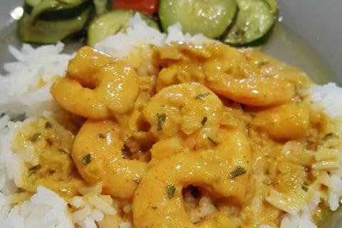 Curry de crevettes au lait de coco Thermomix par GwenCuisine
