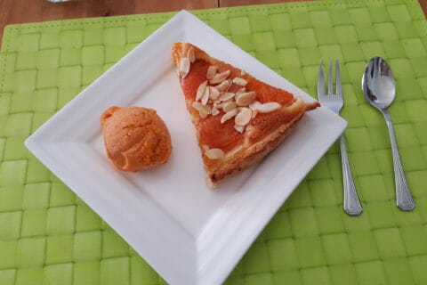 Sorbet à l'abricot Thermomix par Celine84