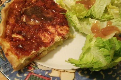 Flamiche aux poireaux et gorgonzola au Thermomix