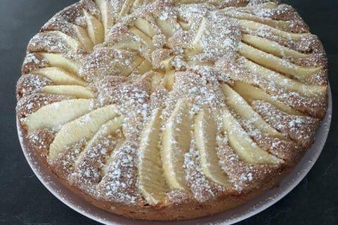 Gâteau aux pommes et mascarpone Thermomix par Oum-Abdeljalil