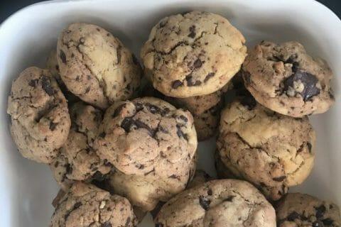 Cookies beurre de cacahuète et pépites de chocolat Thermomix par dumarie