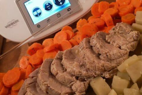 Roti de porc sauce échalote Thermomix par sophieseverac