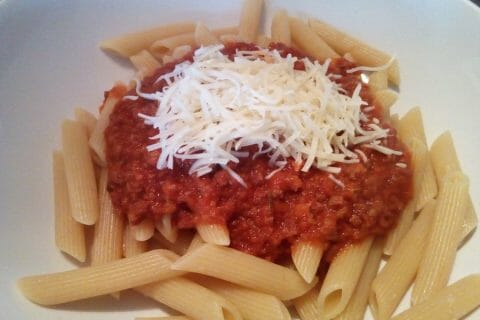 Spaghettis bolognaise Thermomix par Sylvia_BAnana