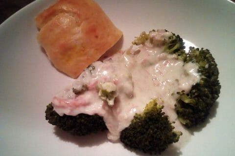 Brocolis sauce roquefort Thermomix par Sylvia_BAnana