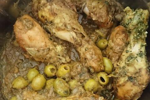 Tajine de poulet aux olives Thermomix par Sabrina.1609