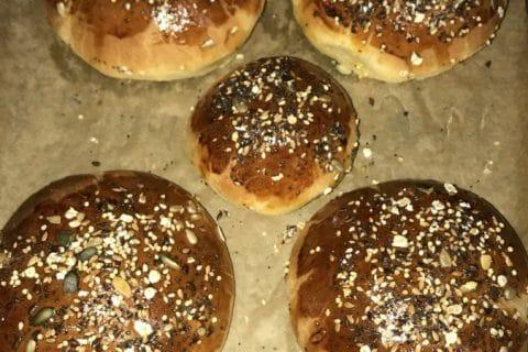 Buns burger Thermomix par Fatimazahraa