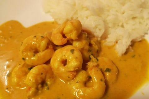 Curry de crevettes au lait de coco Thermomix par Nawam