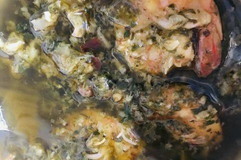 Spaghetti à l'ail et à l'huile d'olive au Thermomix