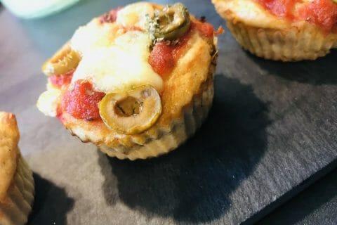 Muffins salés façon pizza Thermomix par Fola