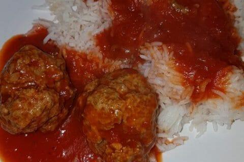 Boulettes de viandes à la sauce tomate Thermomix par camillouche