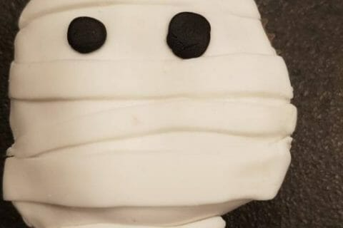 Cupcakes momie Thermomix par alexplumett