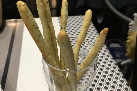 Gressins parmesan basilic Thermomix par tipiak56