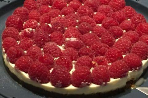 Tarte aux fraises sans cuisson Thermomix par StephD