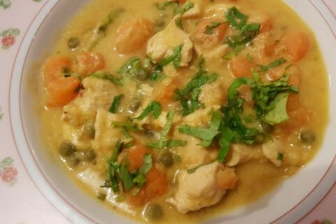 Curry de poulet aux patates douces Thermomix par kati75