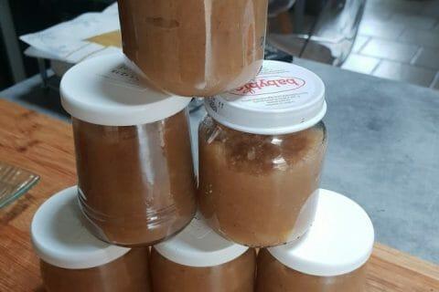 Compote de pommes, bananes et miel Thermomix par catoche33