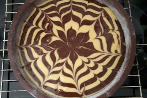 Gâteau zébré Thermomix par FannyH