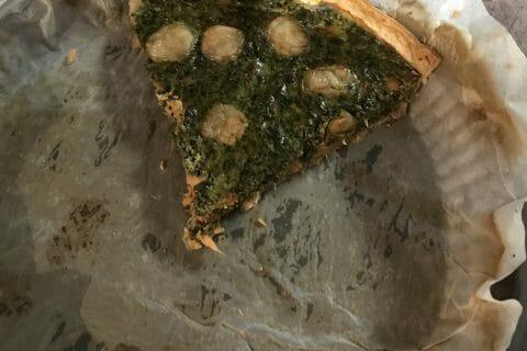 Tarte épinards, saumon et chèvre au Thermomix