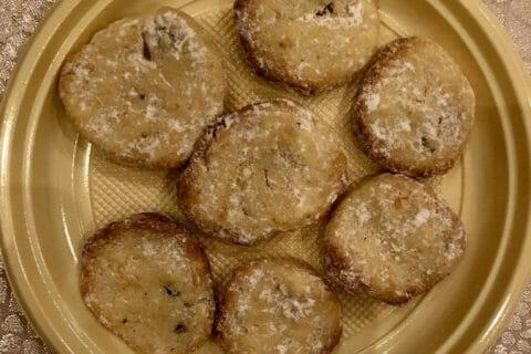 Biscuits fondants  au citron vert Thermomix par natybab