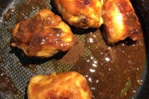 Ailes de poulet au miel Thermomix par betty
