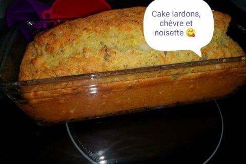 Cake chèvre, noisettes et lardons Thermomix par Aurelie_61