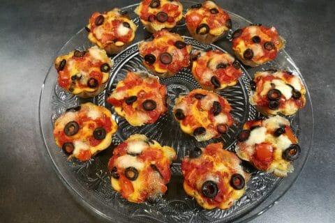 Muffins salés façon pizza Thermomix par reg57