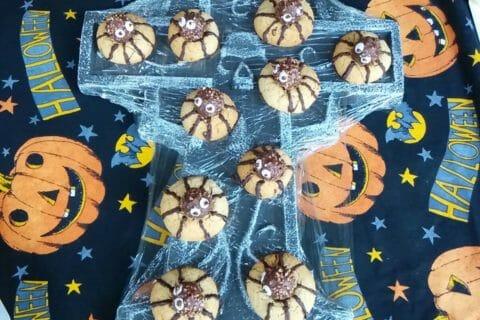 Spider cookies (cookies araignées) Thermomix par emasuerte