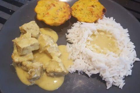 Blancs de poulet sauce moutarde et curry Thermomix par Elo36