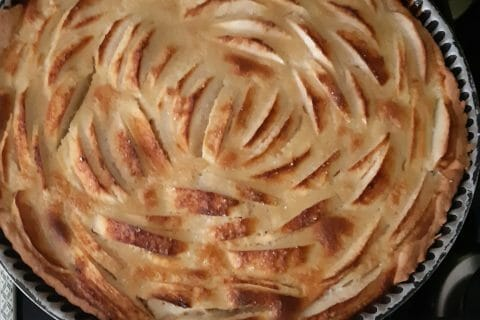 Tarte normande aux pommes au Thermomix
