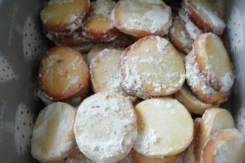 Biscuits fondants  au citron vert Thermomix par gwendo68