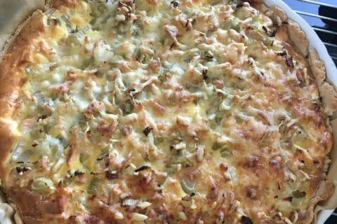 Tarte au fenouil et saumon Thermomix par breizhfamily
