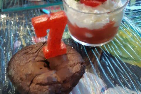 Tiramisu aux fraises en verrines au Thermomix