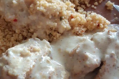 Blancs de poulet sauce moutarde et curry au Thermomix