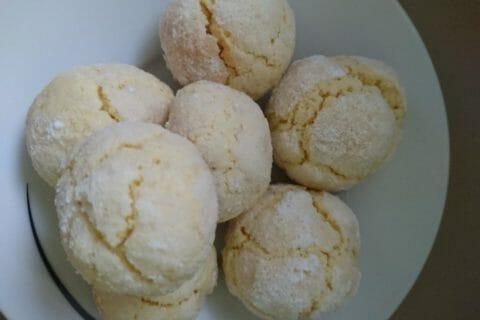 Craquelés au citron Thermomix par Salha