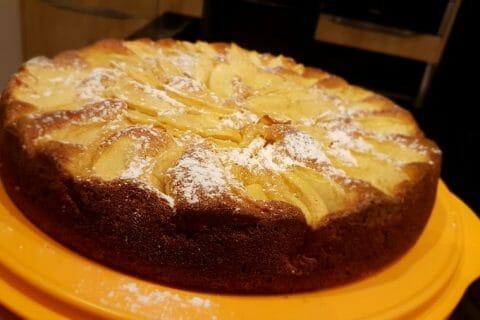 Gâteau aux pommes et mascarpone Thermomix par coly